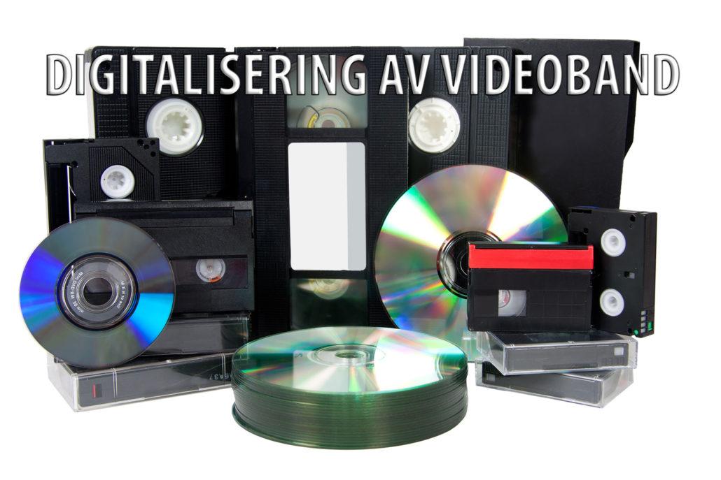 Digitalisering av videoband