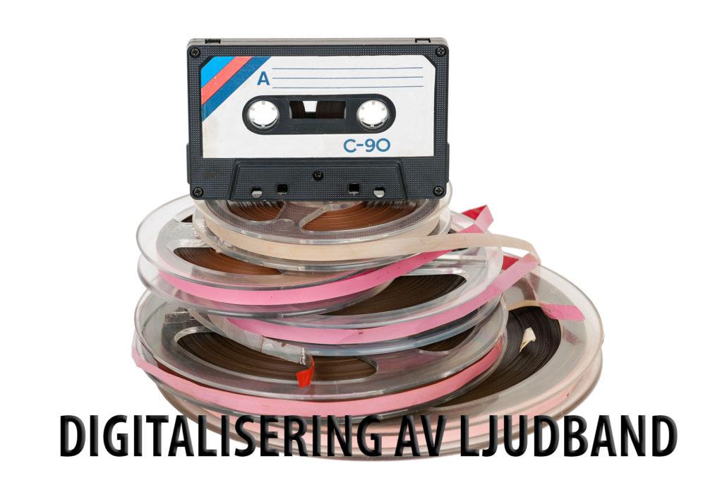 Digitalisering av ljudband