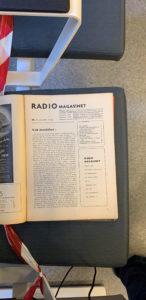 RADIO Magasinet nr 1 1950 (Dansk)